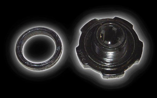 Oil cover and gasket Campell 650