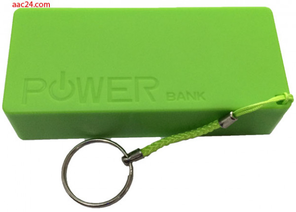 Mobiles Ladegerät grün 5600 mAh
