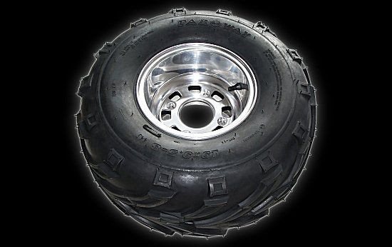 Tyre on rim hl 19 X 9.50 - 8 Shineray 250 STXE