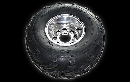 Reifen auf Felge hr 19 X 9.50 - 8 Shineray 250 STXE
