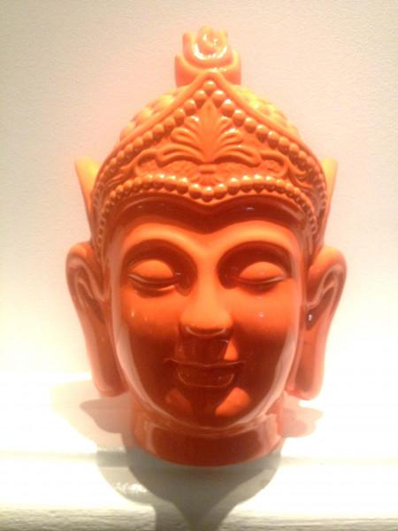Buddha Orange Ceramic