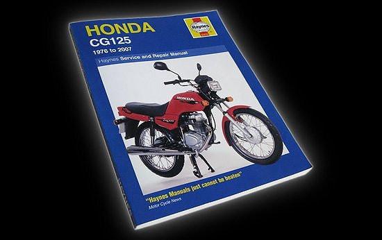 Haynes technical manual Honda GG125
