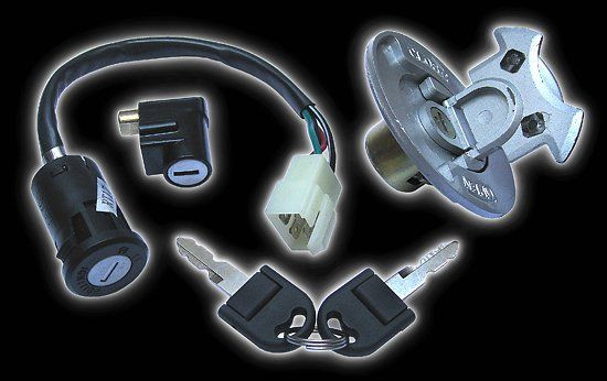 Ignition lock set Bashan Shineray 200