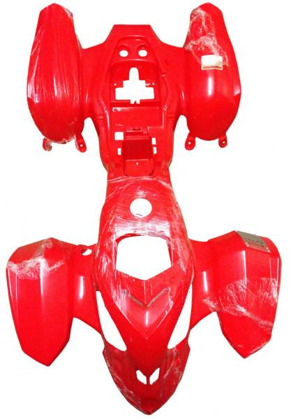 Fairing red Mini Quad Sport 110 - 125