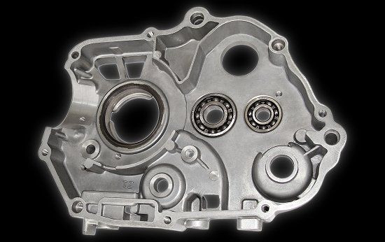 Carter moteur droit Mini Quad Sport 110 - 125