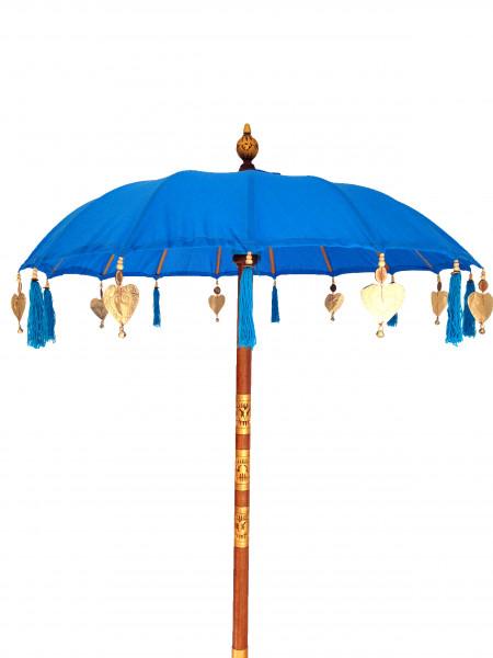 Sonnenschirm blau Modell Bali