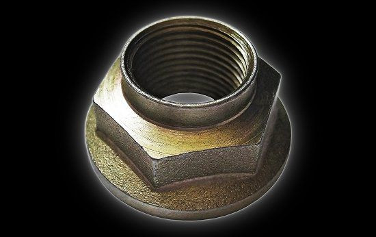 Cardan shaft Nut front Campell 650