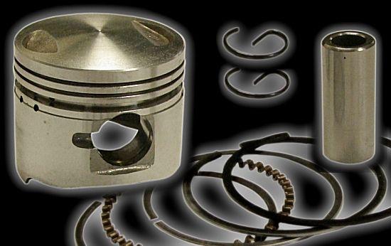Piston avec anneaux Jonway 125