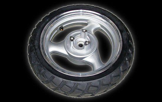 Jante arrière en aluminium 130-60-13 Jonway 125