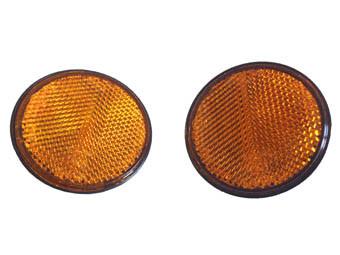 Reflektoren gelb K-Lite 2 Stck für alle Quad ATV