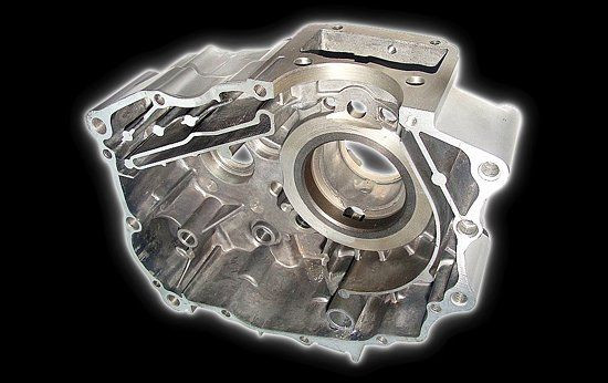 Carter moteur gauche Shineray 200