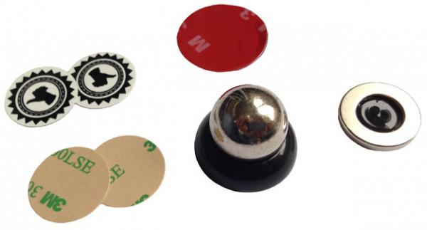 Handy Halterung Magnetkugel schwarz