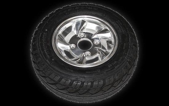 Tyres on rim vr 18 X 8.00-10 Shineray 250 STIXE