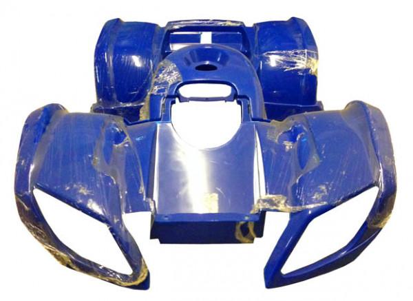 Verkleidung blau Mini Quad Hummer 110 - 125
