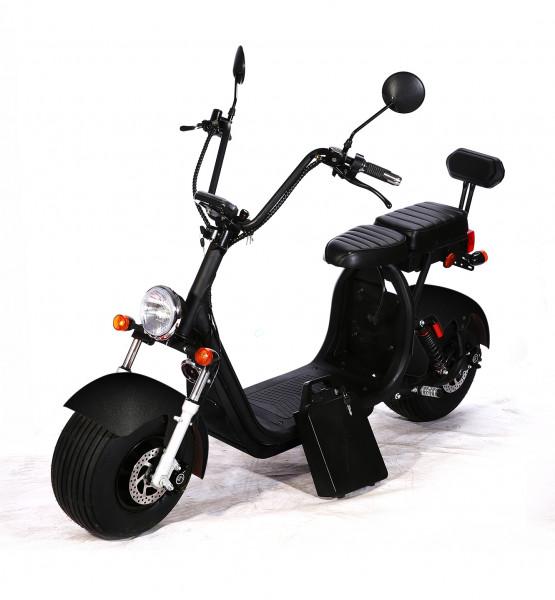 CityCoco Elektro Roller E-Scooter e-Bike 1500 Watt 60V 12Ah 2-Sitze EEC/COC