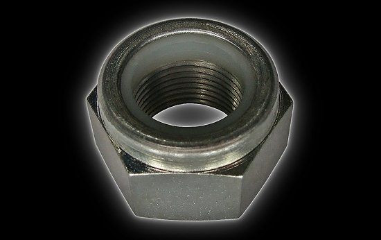 Nut Nylonstop M20 rear axle Bashan Shineray