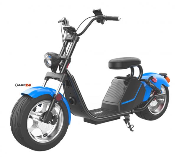 CityCoco Harley Elektro Scooter 1500 Watt mit EU Strassenzulassung