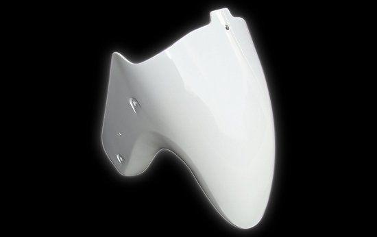 Schutzblech Verkleidung vorne silber Jonway 125