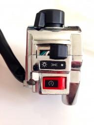 Schalterkasten verchromt rechts Shineray 250 - 300