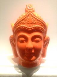 Buddha Orange Keramik