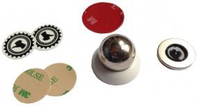 Handy Halterung Magnetkugel weiß